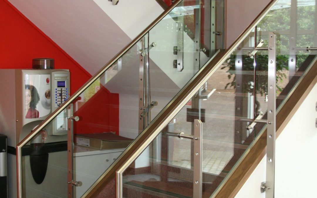 Make an impact with a Glass Staircase this Christmas