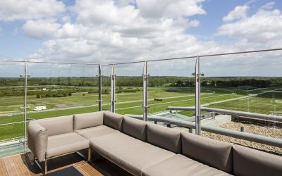 Making Outside Seating Areas Safer with Glass Balustrades