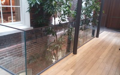 Make your building safer with our Glass Balustrades