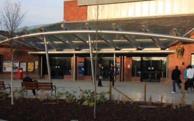 How Glass Canopies & Entrances can help in the winter