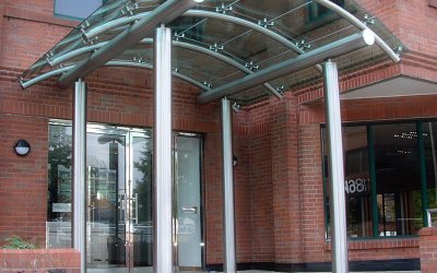 How a Glass Canopy Can improve the look of your building?